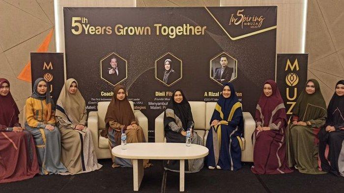 Usaha Lagi Sulit tapi  Fesyen Muslim Brand Lokal Mouza Indonesia Tumbuh 12 % di Masa Pandemi