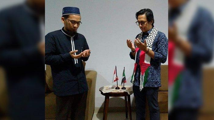 Andre Taulany Akhirnya Temui Ustadz Adi Hidayat, Keduanya Berdoa Bersama, Warganet Turut Memaafkan