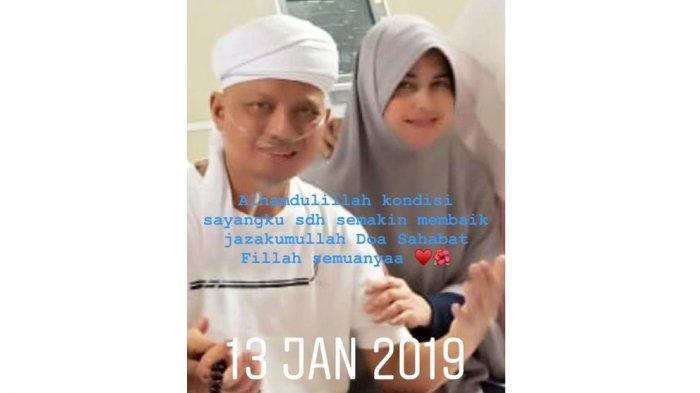 Ustaz Arifin Ilham Semakin Segar, Istri Pertama: Alhamdulillah Kondisi Sayangku Semakin Membaik
