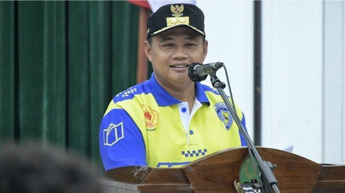 PON XX Papua 2021, Uu Ruzhanul Memotivasi Kontingen Jabar Cabor Balap Motor