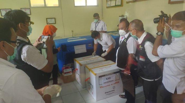 3.920 Dosis Vaksin Sinovac Tiba di Majalengka, Bupati Bakal Jadi yang Pertama Divaksin