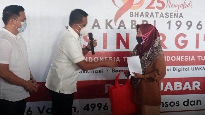 25 Tahun Jadi Aparat Negara, Akabri 1996 Percepat Vaksinasi Covid-19 di Kota Bandung