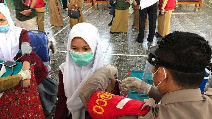 Percepatan Vaksinasi di Cianjur, Seribu Pelajar SMAN 1 Ciranjang Mulai Divaksin Covid-19