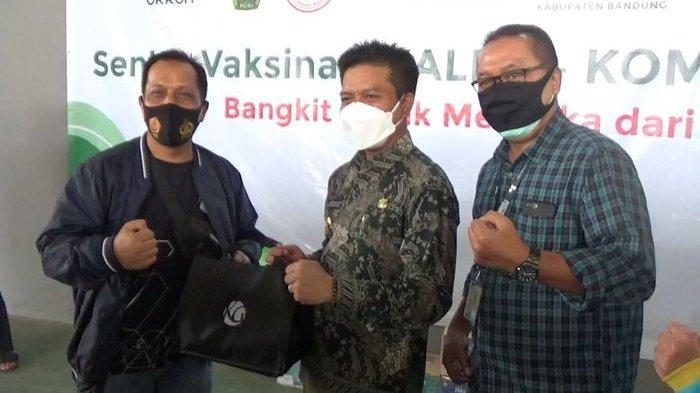 Bupati Bandung Sebut Sentra Vaksinasi Kalbe-Kompas Gramedia Sebuah Kolaborasi yang Sangat Luar Biasa