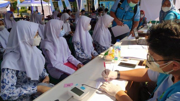 Jelang Belajar Tatap Muka 20 September, Vaksinasi Pelajar di Bandung Barat Terus Digenjot