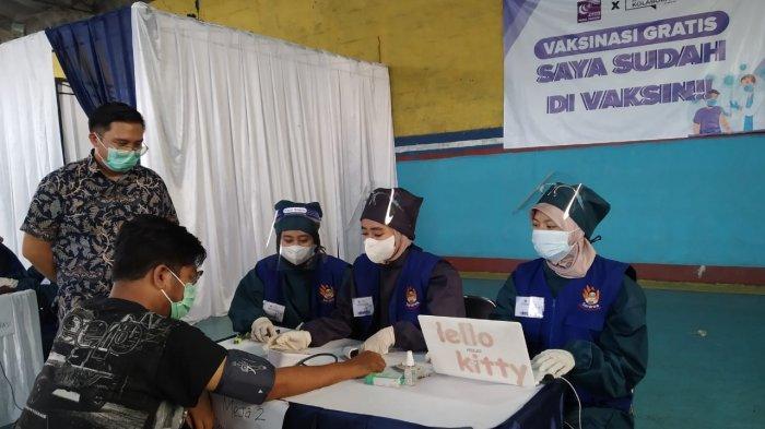 Ruang Kolaborasi Gandeng Klinik Prima Husada Berikan Vaksinasi Bagi 200 Warga Kota Bandung