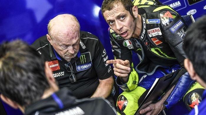 Inilah Surat Perpisahan Valentino Rossi untuk Tim Pabrikan Yamaha