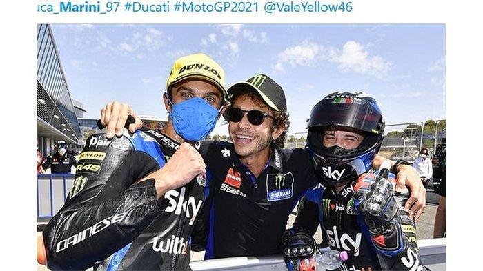 Perpanjang Kontrak dengan Yamaha, Valentino Rossi Bakal Tampil Bareng Anak Didiknya pada MotoGP 2021