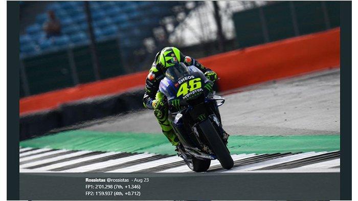BREAKING NEWS - Valentino Rossi Sembuh dari Covid-19, Siap Kembali pada MotoGP Eropa 2020