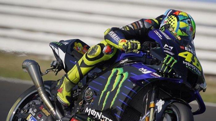 Link Live Streaming Kualifikasi MotoGP Emilia Romagna, Rossi Bisa Apa Setelah Lemas di FP