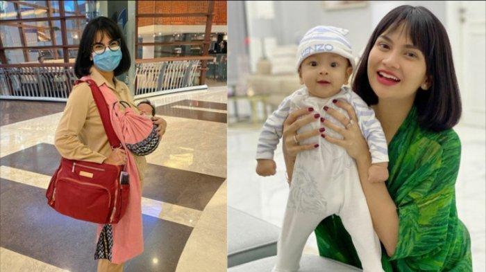 Vanessa Angel Tak Temani Bayinya yang ke Rumah Sakit, Suami Kebingungan, Anaknya Disuntik