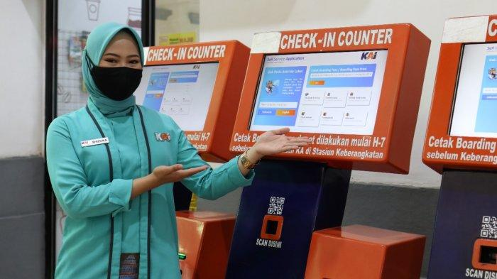 12 Stasiun di Wilayah PT KAI Daop 3 Cirebon Hadirkan Fasilitas Vending Machine SSA