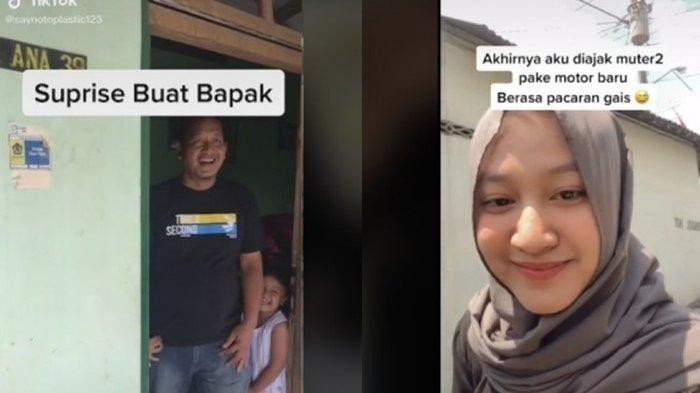 Viral Video Menyentuh Hati, Ayah Dibelikan Motor dari Hasil Usaha Anaknya, Terharu Dapat Kejutan