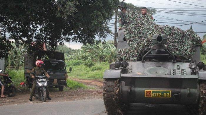 Video Viral Penyekatan Larangan Mudik Dilakukan TNI Menggunakan Tank, Begini Akhirnya Nasib Penyebar