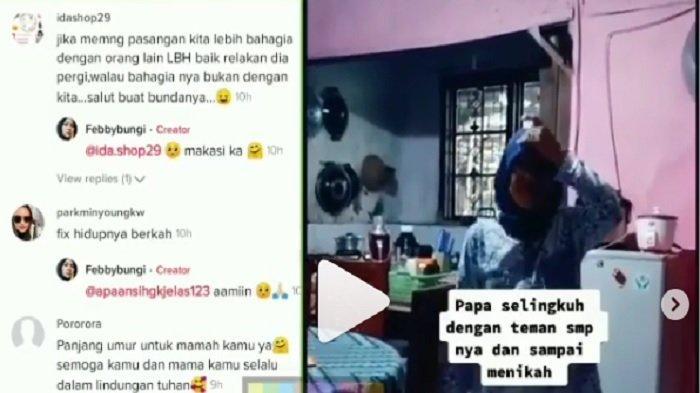 Viral Video Mantan Istri Jenguk Ayah Mantan Suami, Padahal Dulu Diselingkuhi, Anak: Surga untuk Mama