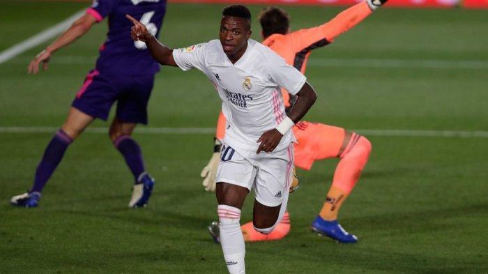 Link Live Streaming Real Madrid vs Chelsea, Vinicius Junior: ''Kami Tim Terbaik di Dunia''