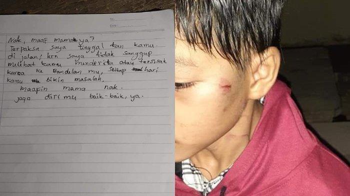 Viral Kisah Anak Dibuang Ibu di SPBU karena Pukuli Adik, Sebelumnya Diancam Pakai Kapak oleh Ayah