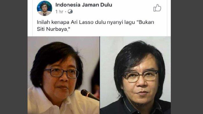 Viral, Siti Nurbaya dan Ari Lasso Disebut Mirip, Begini Reaksi Menteri LHK Itu Melihat Fotonya