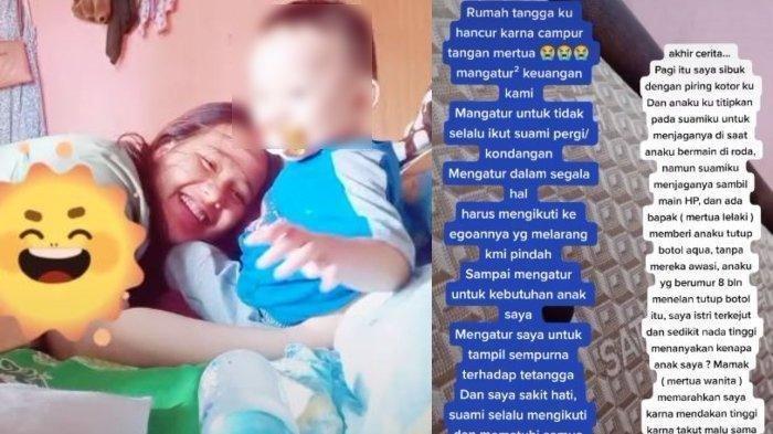 Viral di TikTok, Istri Tertekan Ibu Mertua Ikut Campur, Suami Diam Saja, Rumah Tangga Berantakan