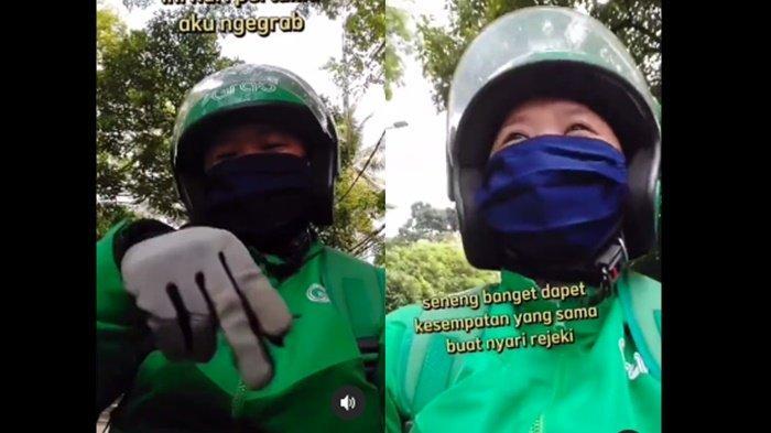 Viral Kisah Driver Ojol Tuna Rungu, Gembira di Hari Pertama, Uangnya Dibelikan Makanan Buat Ibunya