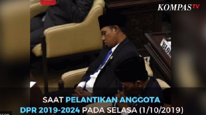 Viral Foto Dirinya Tidur di Pelantikan DPR, Lora Fadil Awalnya Tak Mau Minta Maaf, Merasa Tak Salah