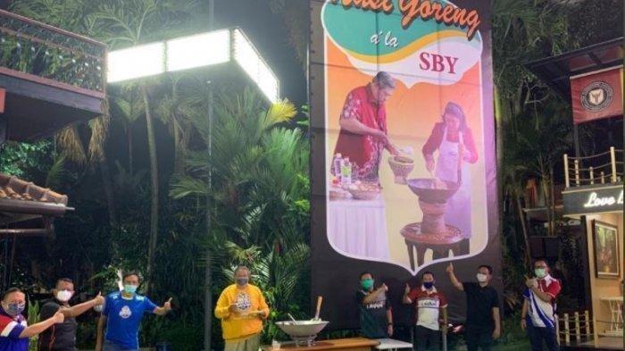 Viral Foto SBY di Unggahan Andi Arief, Benarkah SBY Jualan Nasgor? Andi Arief: Ekonomi Makin Berat