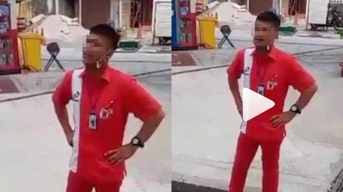 Beredar video pegawai SPBU di Bandung ribut dengan warga yang berjualan viral di media sosial.