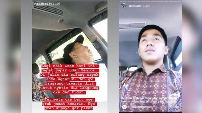 Cerita Viral, Seorang Penumpang Rela Gantikan Sopir Taksi Online Kemudikan Mobil
