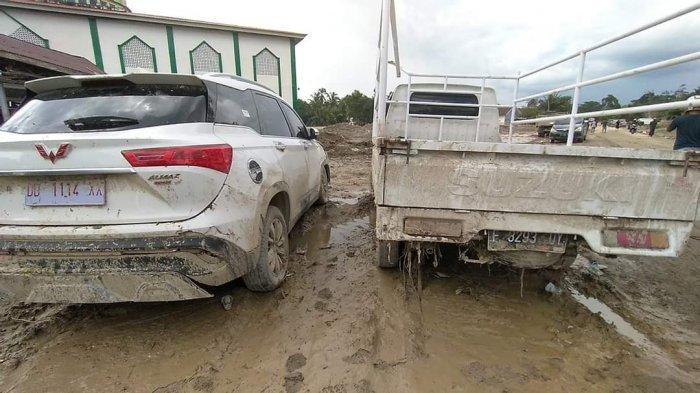 VIRAL Pikap Pelat Nomor Sukabumi di Banjir Bandang Masamba, Namun Setelah Dicek Tak Terdaftar