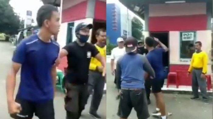 Ditegur Tak Pakai Masker, Pria Ini Malah Ngajak Berantem dan Sebut-sebut Kawan Perwira