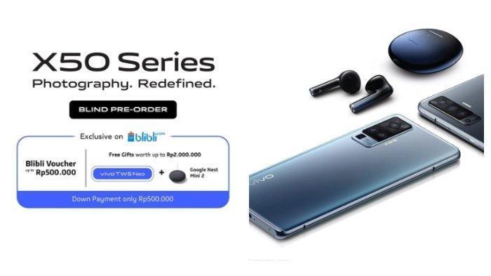 Ini Spesifikasi Vivo X50 dan X50 Pro, Anda Bisa Mendapatkannya Secara Pre-order hingga 15 Juli