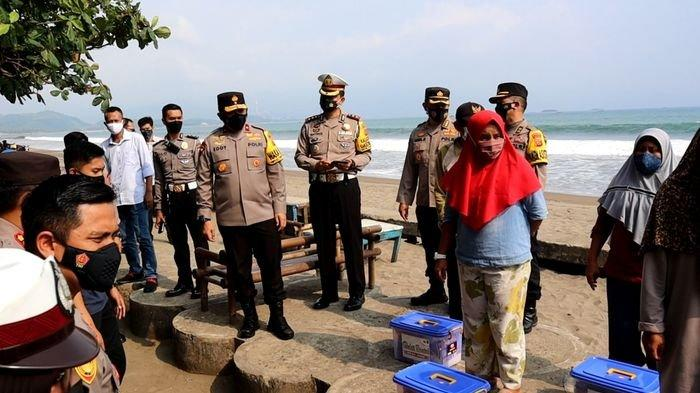 Wakapolda Jabar Eddy Sumitro Tambunan Kunjungi Pantai Citepus Sukabumi, Kembali Ingatkan soal Ini