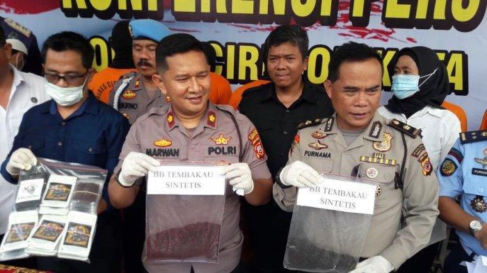 Produksi Tembakau Gorila di Kontrakan, Polres Cirebon Kota Tangkap Pemuda Asal Bandung