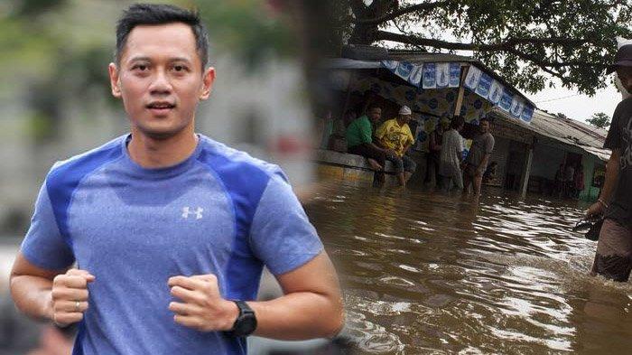 Waketum Demokrat AHY Buka Suara Soal Masalah Banjir Jakarta, Putra SBY Beri Pesan Ini Buat Korban