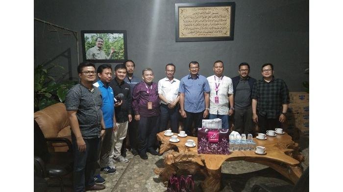 Jajaran Tribun Jabar dan Rabbani Bersilaturahmi ke Wakil Bupati Garut