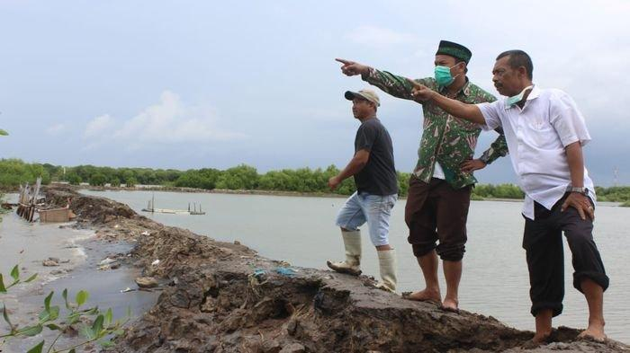 DPRD Kabupaten Indramayu Bakal Upayakan Perbaikan Tanggul Jebol di Desa Eretan Akibat Banjir Rob