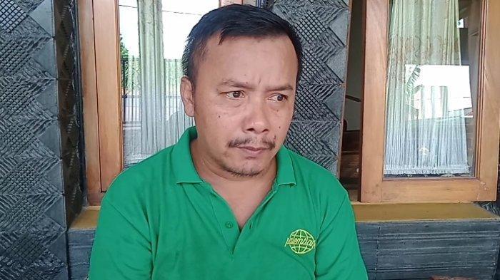 Wakil Ketua DPRD Kabupaten Pangandaran Fraksi PKB, Jalaludin, Sabtu (1/5/2021). Ia mengatakan seolah-olah Pemda Pangandaran tebang pilih dalam memutus kontrak ratusan tenaga honorer.