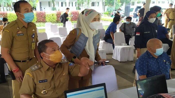 Wakil Wali Kota Bandung Yana Mulyana Rasakan Efek Ini Setelah Disuntik Vaksin Covid-19