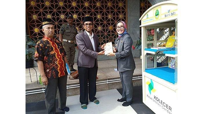 Pemkot Cirebon Resmikan Kolecer di Masjid Raya At-Taqwa