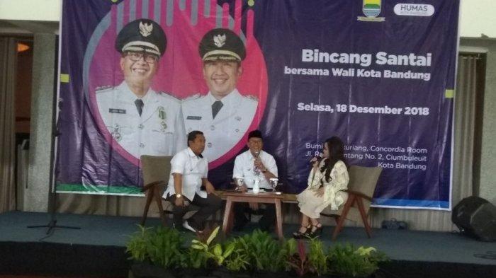 Oded M Danial dan Yana Mulyana Gelar Bincang Santai dengan Awak Media, Bahas Sampah dan Kemacetan