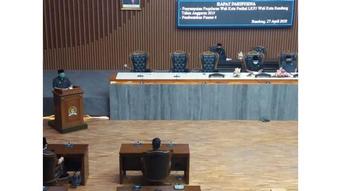 Wali Kota Bandung Serahkan LKPJ 2019, Guna Dievaluasi Pansus IV DPRD Kota Bandung