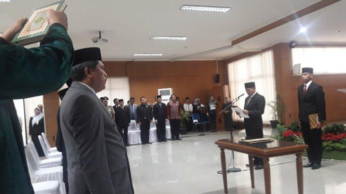 6 Kepala Dinas Di Kota Cimahi Yang Baru Dilantik Diminta Harus Bergerak Cepat Tribun Jabar