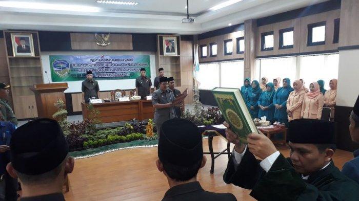 Setelah Budi Budiman jadi Tersangka di KPK, Pemkot Tasikmalaya Gelar Rotasi dan Mutasi Pejabat