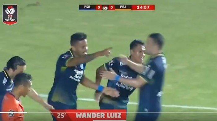 Persib Bandung vs Persiraja Banda Aceh 1-0 di Babak I, Ini Jalannya Pertandingan