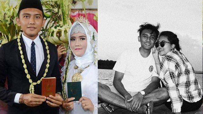 Kisah Pasangan ini Viral di Facebook, Dulu Bermusuhan tapi Kini Duduk Bersama di Pelaminan