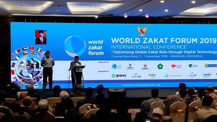 Buka World Zakat Forum 2019 di Bandung, Wapres Ingin Indonesia Jadi Pusat Ekonomi Syariah Dunia
