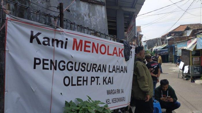 Rumah di Lahan Milik PT KAI Mau Dibongkar, Warga Kebonwaru Bandung Minta Hargai Proses Hukum