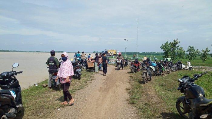 Jika Waduk Cipancuh Indramayu Jebol, Tiga Kecamatan Bisa Terendam, Warga Sudah Diminta Mengungsi