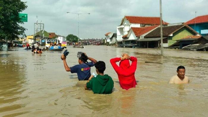 INNALILLAHI, Sutarno Warga Jakarta Meninggal Dunia Terjebak Banjir di Rumahnya, Pintu Terkunci