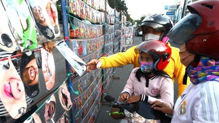 Masker Menjadi Peluang Usaha di Masa Pandemi Covid-19, Pemerintah Diminta Beli Produk Lokal